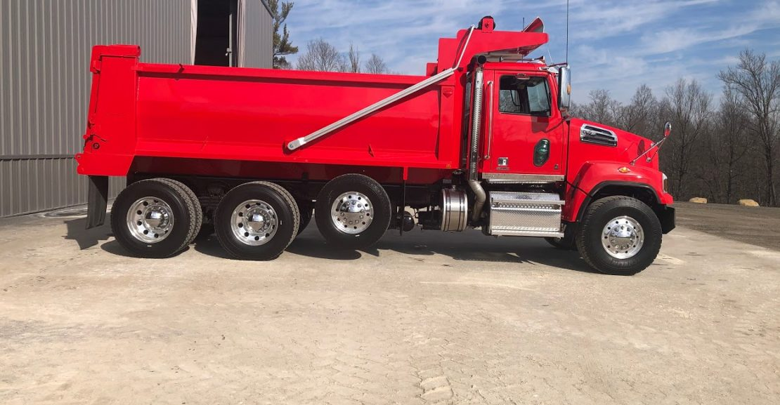 Red on red 2020 Western Star